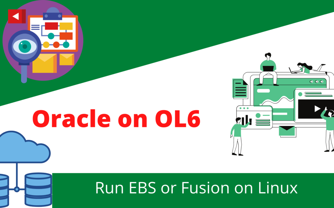 Oracle OL6 OS for Oracle EBS & Fusion Applications
