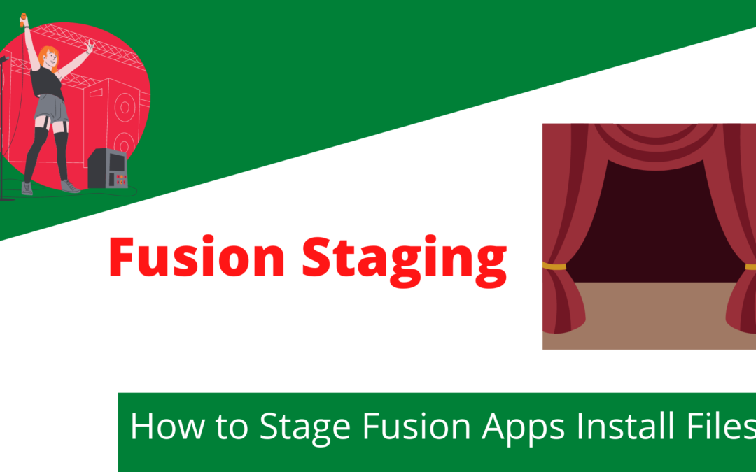 Oracle Fusion Applications – Staging Setup