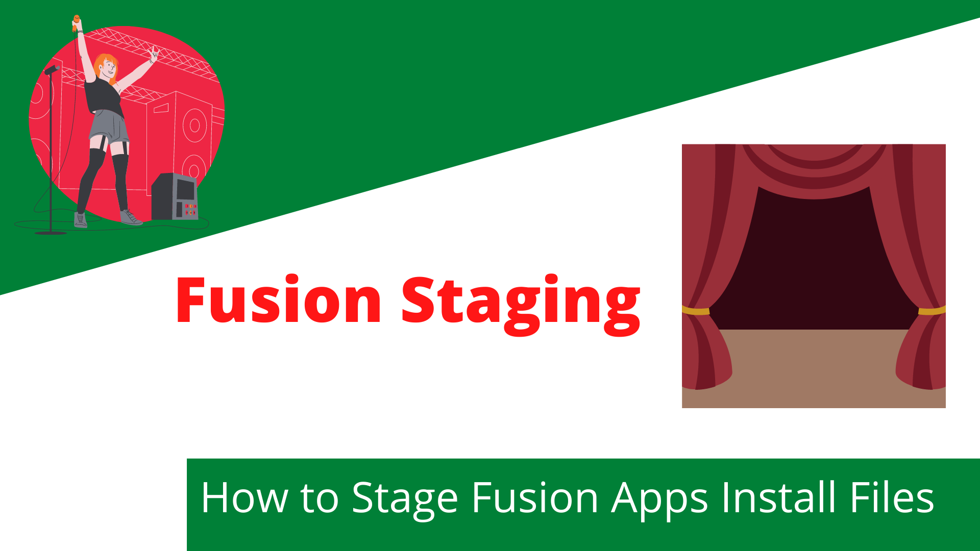 Fusion Applications Install Files Staging